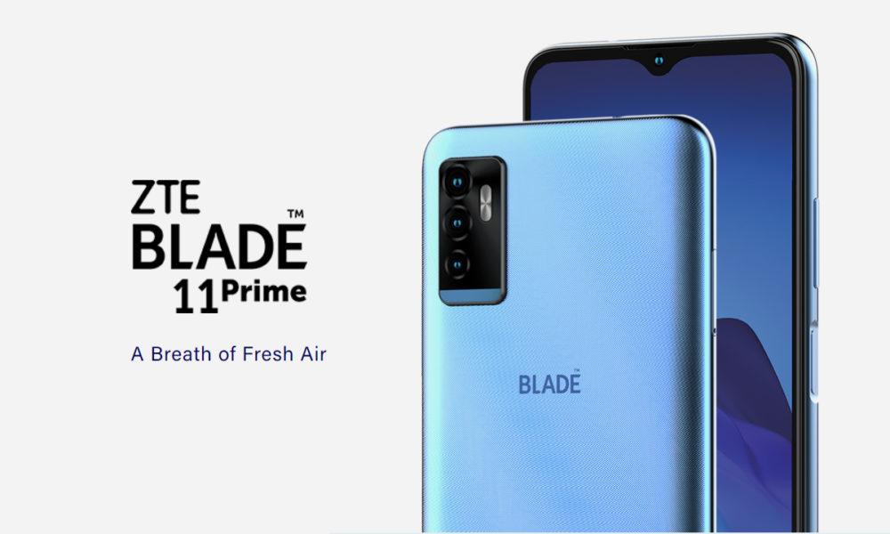 ZTE Blade 11 Prime, el smartphone económico con carga inalámbrica