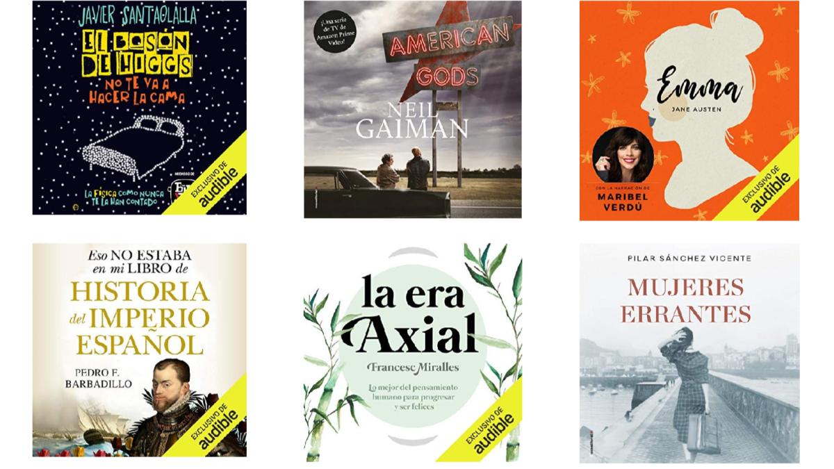 Amazon regala 16 audiolibros en Audible por el Día Internacional del Libro