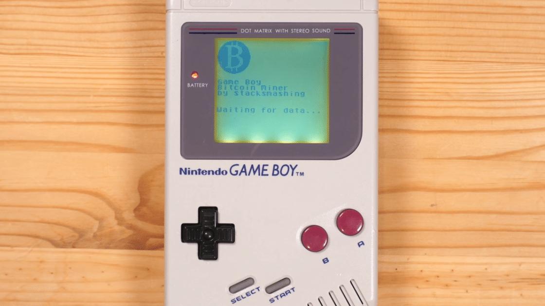 ¿Minar bitcoin con una vieja Game Boy de Nintendo? Este youtuber dice que sí