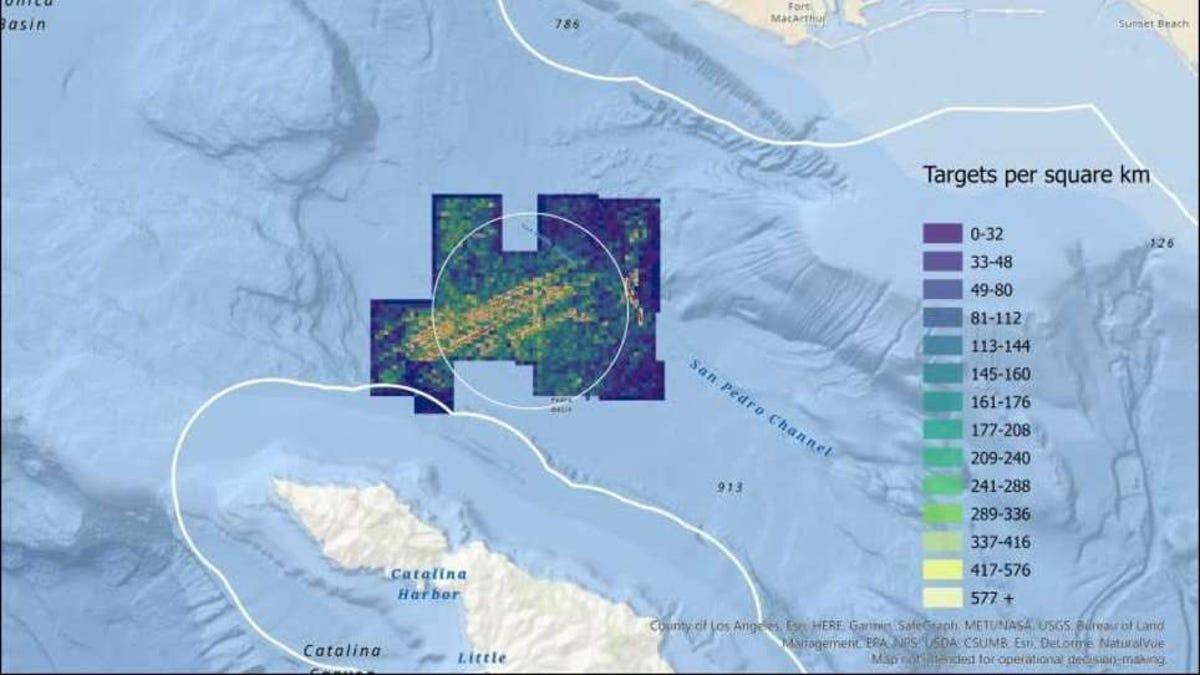 Encuentran 25.000 barriles de DDT en la costa de California