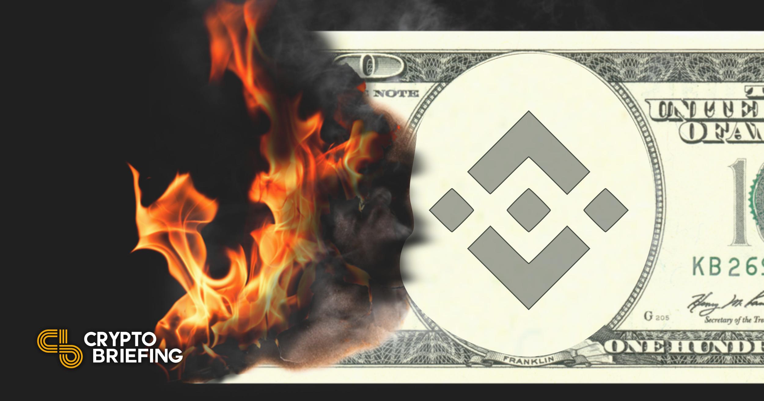 Binance quema $ 600 millones en tokens BNB