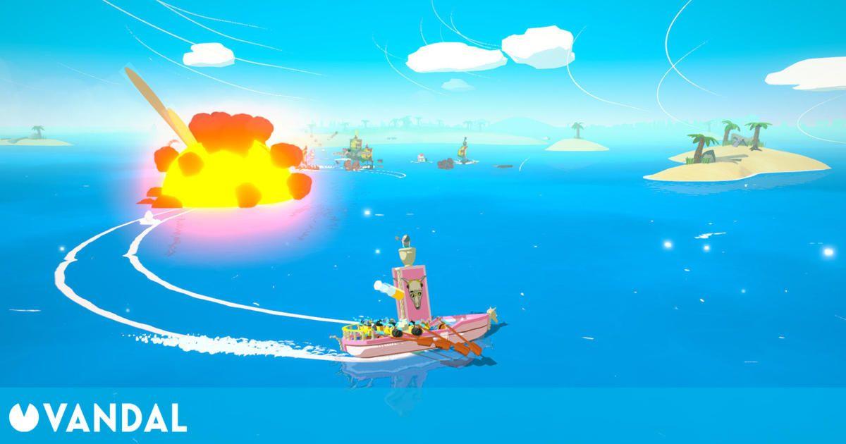 Captains of the Wacky Waters, un juego indie desarrollado en España, muestra su tráiler