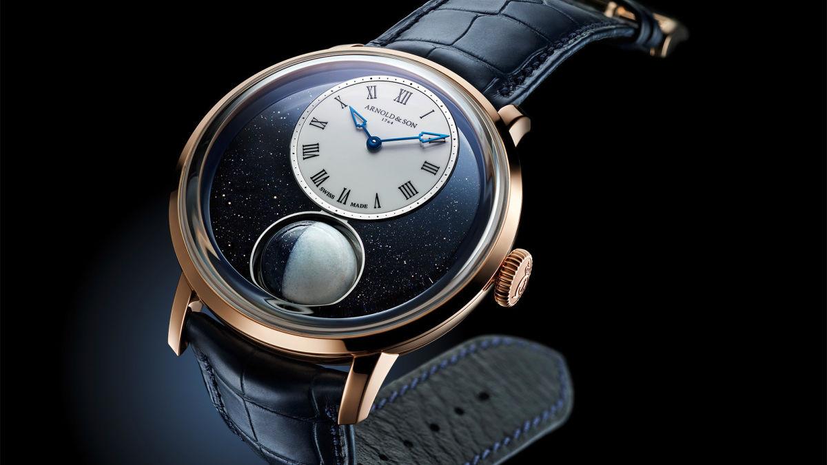 Este reloj de 47.500 dólares incluye una luna pequeña