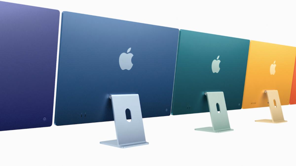 Los nuevos iMac M1 recuperan los colores de la serie G3