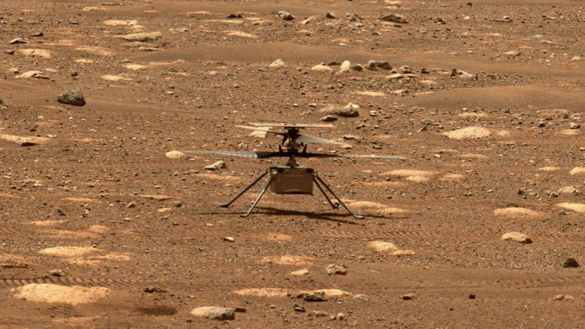 Cómo ver el primer vuelo en helicóptero en Marte de la NASA