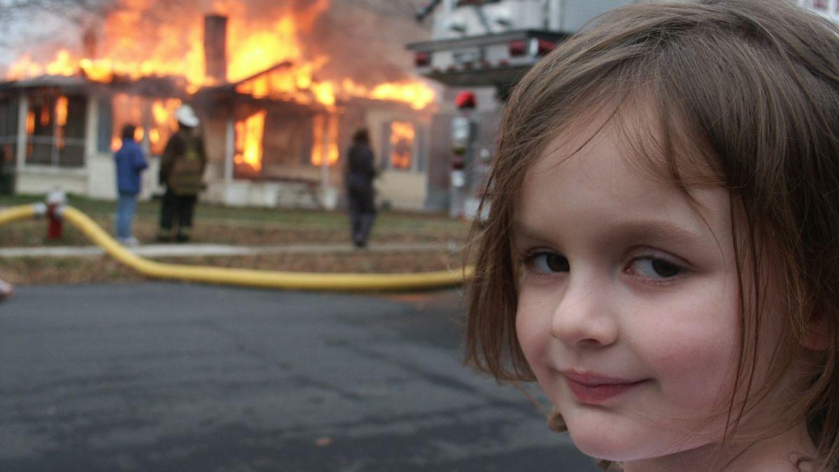 La niña del meme Disaster Girl ha conseguido recuperar su propiedad y ganar dinero gracias a los NFT