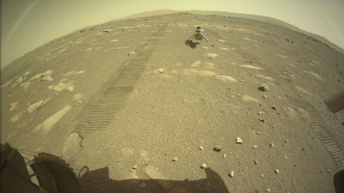 Eso no es un artcoíris sobre Marte