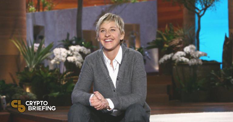 Ellen DeGeneres vende NFT, habla sobre Dogecoin