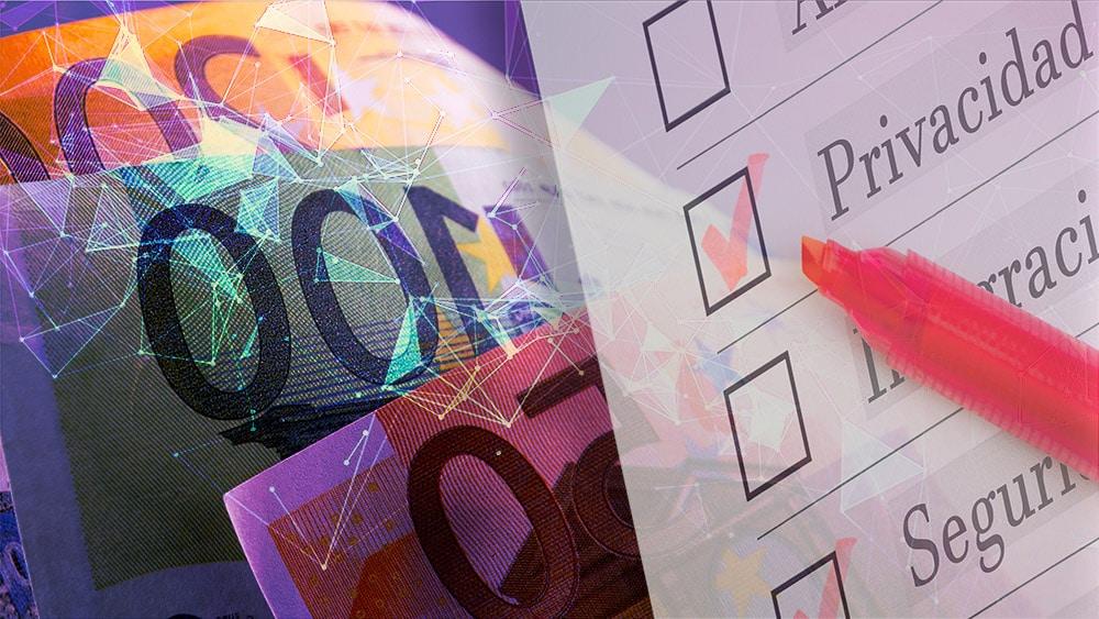 La privacidad y seguridad estarán garantizadas con el euro digital, promete el BCE