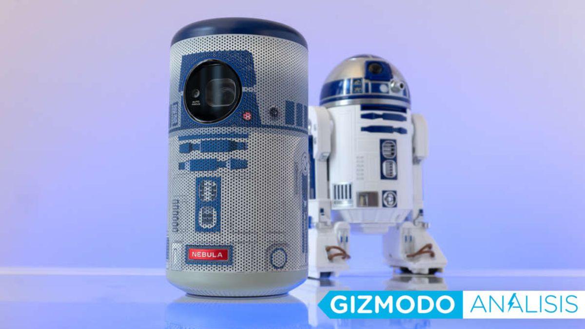 El mini proyector R2-D2 de Anker es adorable pero defectuoso