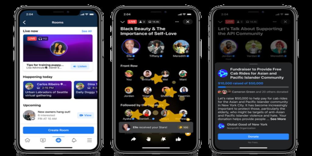 Facebook anuncia su plataforma de podcasts en vivo: ¿será capaz de competir con Clubhouse?