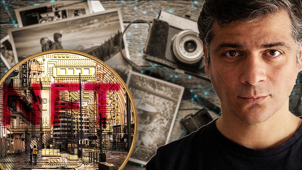 Artista español subastará fotografía de la Gran Vía de Madrid como un NFT