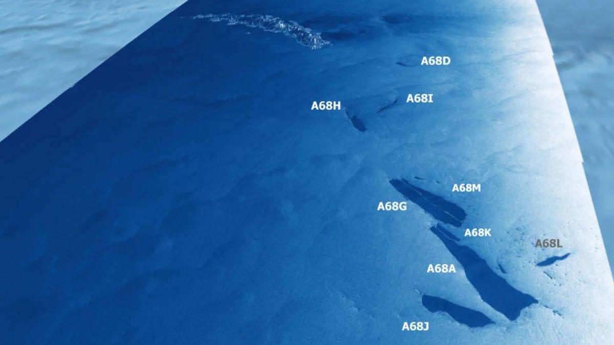 El iceberg más grande del mundo se ha derretido
