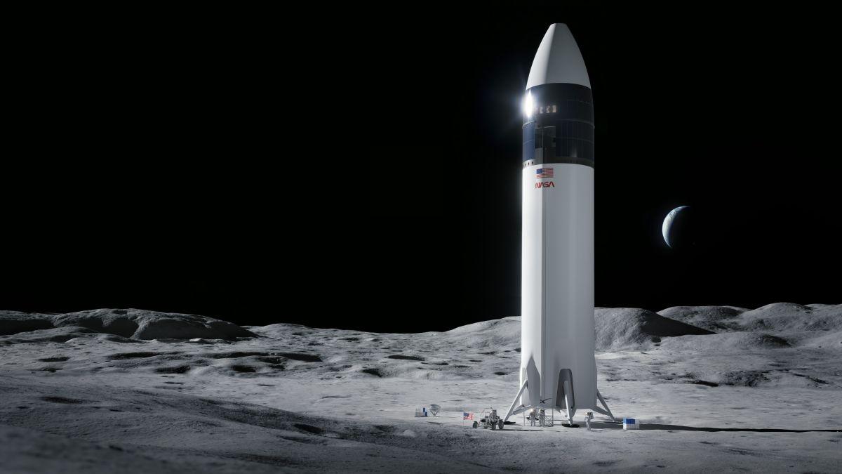 La NASA selecciona la Starship de SpaceX para aterrizar astronautas en la Luna