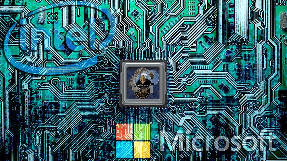 Microsoft e Intel se unen para combatir la minería maliciosa de criptomonedas