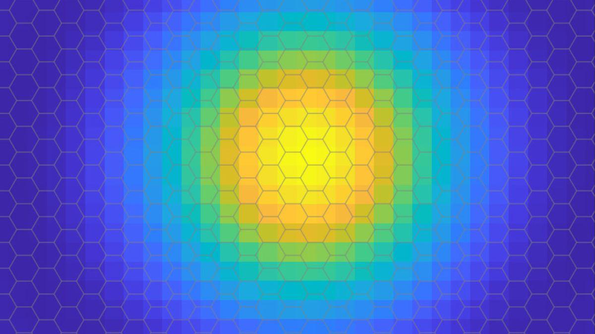 Esta es la primera imagen de un electrón dentro de un excitón