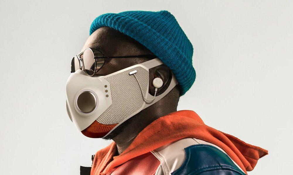 Xupermask, una mascarilla futurista con un toque cyberpunk