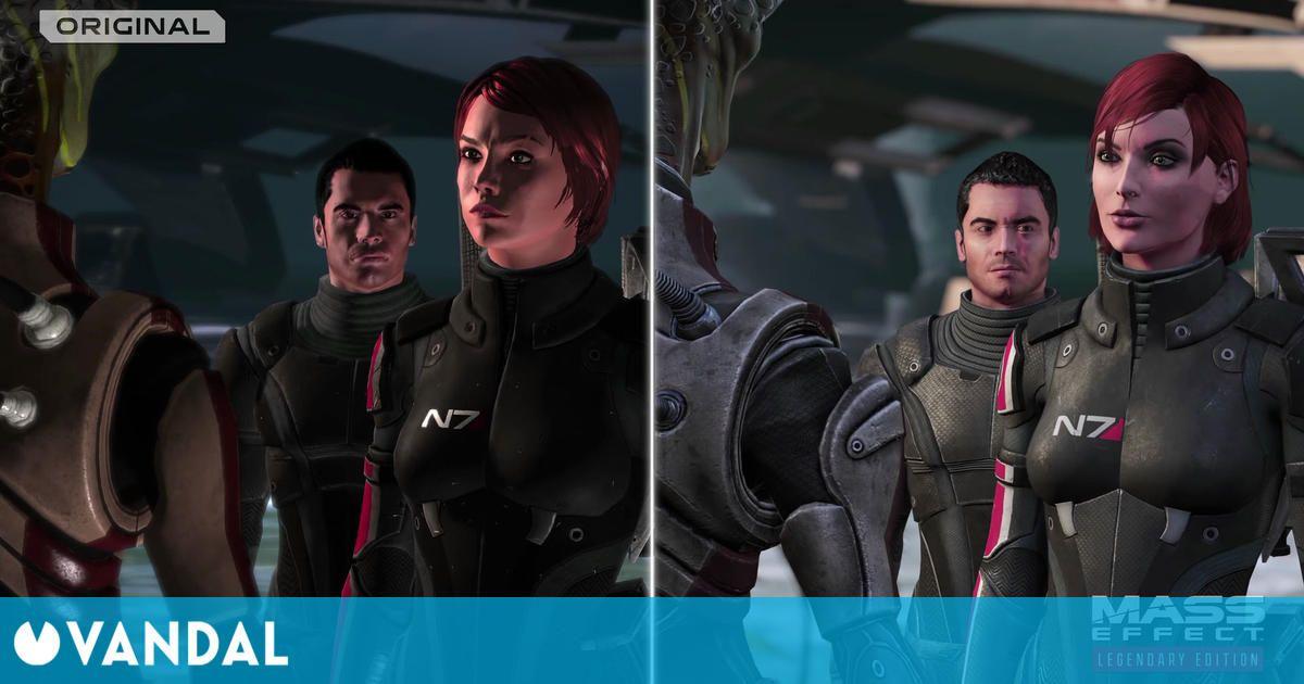Mass Effect: Legendary Edition muestra en un nuevo vídeo sus múltiples mejoras gráficas