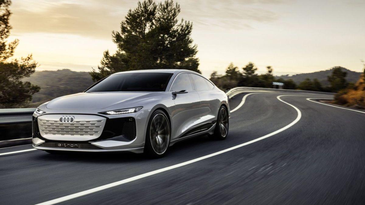 Audi presenta el A6 e-tron, un sedan eléctrico para el 2022