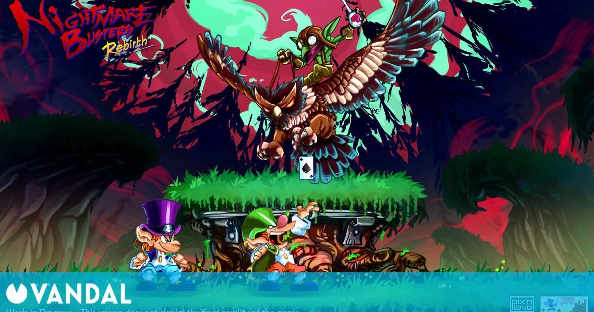 Nightmare Busters de Super Nintendo llegará a PC y consolas como un revival