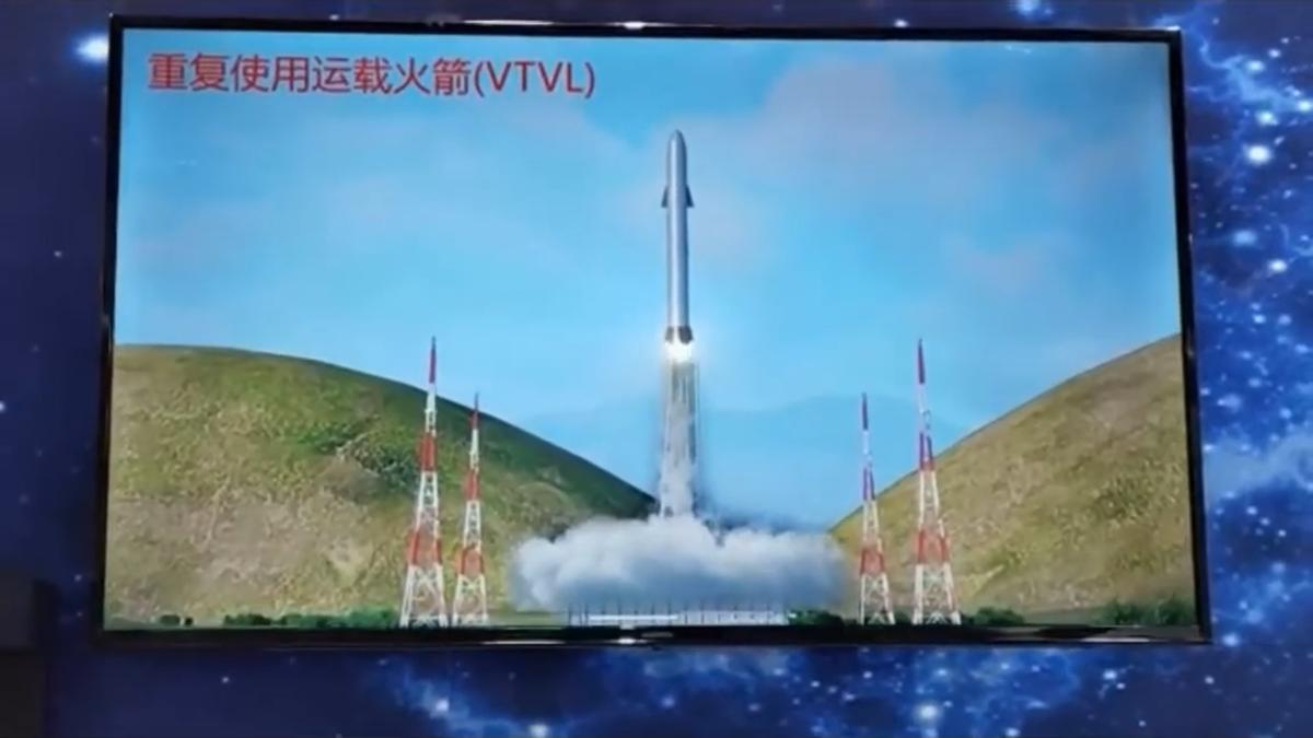 China muestra un cohete sorprendentemente parecido a la Starship de SpaceX