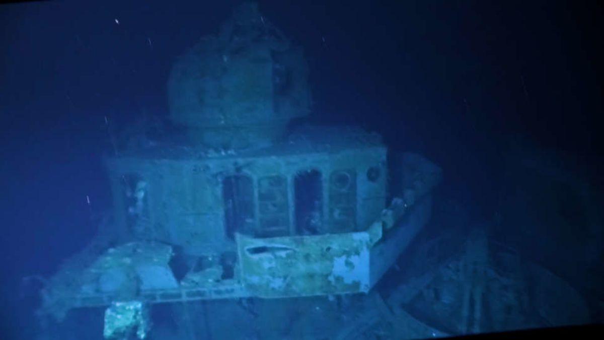 Inmersión al naufragio más profundo de la historia explorado