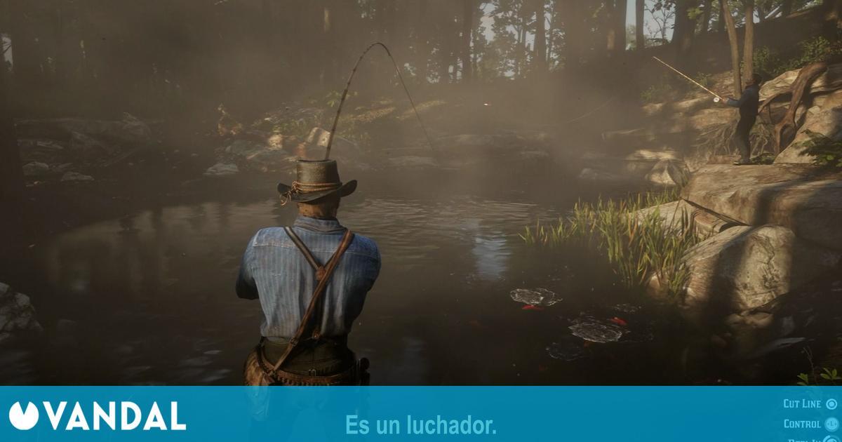 Los peces de Red Dead Redemption 2 usan las cascadas para moverse como en la vida real