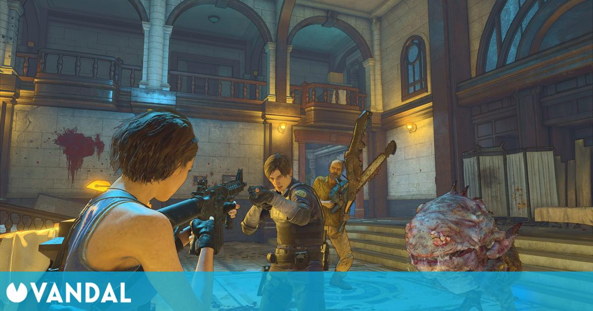 Capcom cerró temporalmente la beta abierta de Resident Evil Re:Verse, ya disponible