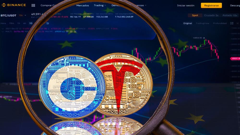 Reguladores de Europa ponen la mirada en los tokens de acciones que ofrece Binance