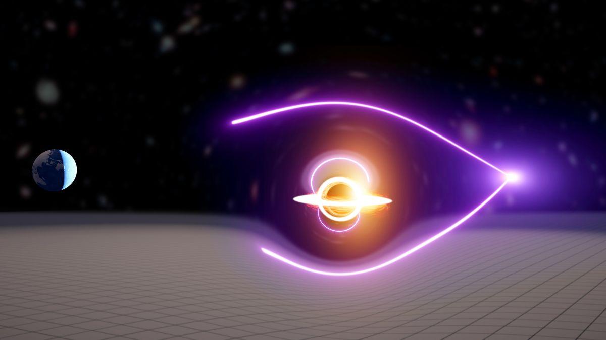 Unos físicos podrían haber detectado un agujero negro especialmente raro