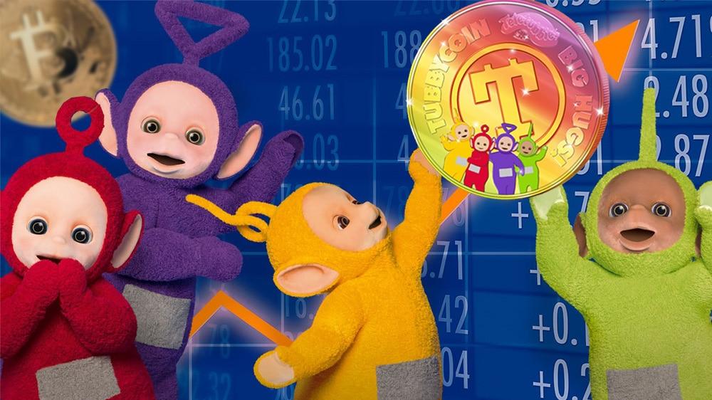 Los Teletubbies crean su propio bitcoin con «tecnología de abrazos»