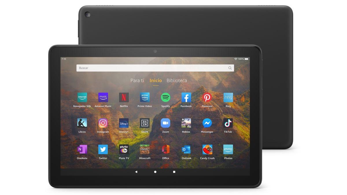 Amazon pone a la venta una nueva tablet Fire HD de 10 pulgadas, su alternativa barata al iPad