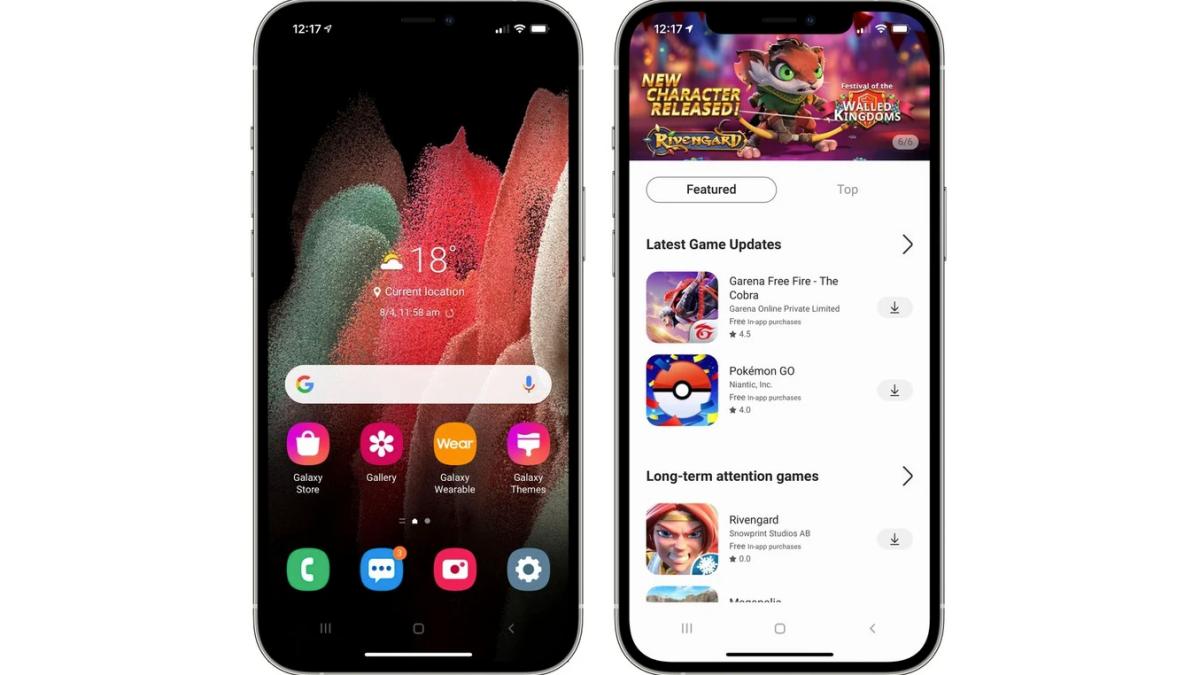 Prueba un teléfono Galaxy desde tu iPhone con esta web de Samsung