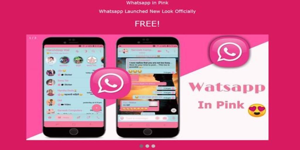 Cuidado con WhatsApp rosa, la peligrosa aplicación maliciosa que esconde un virus informático