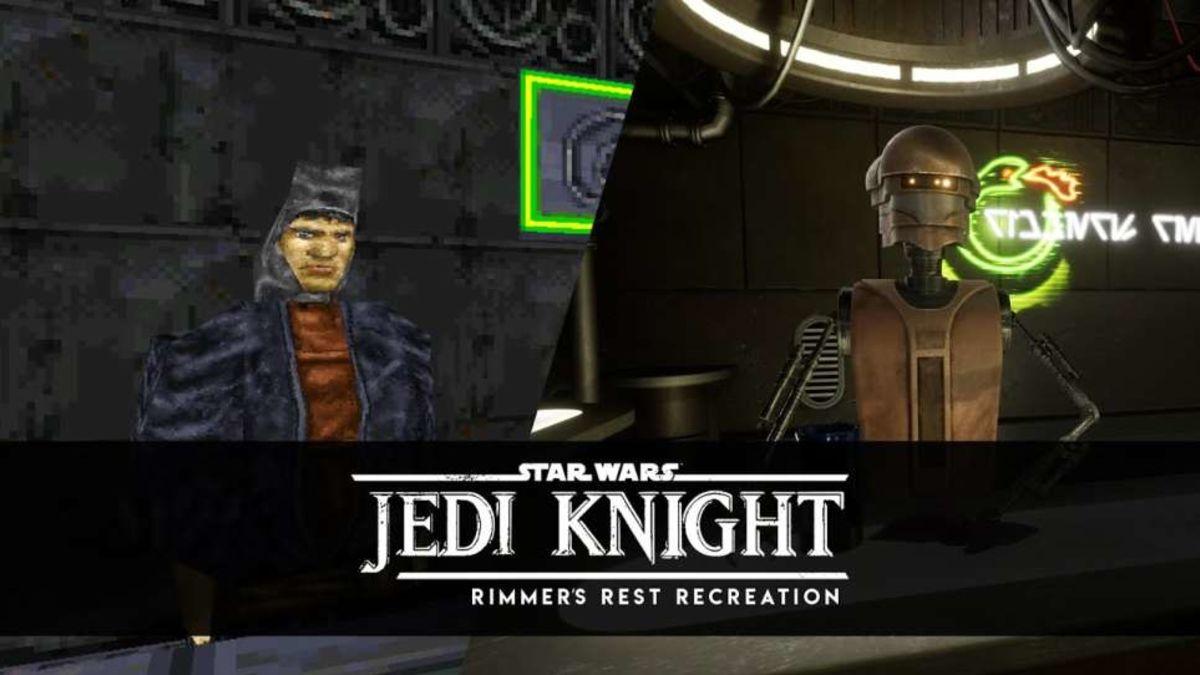 Jedi Knight, en Unreal Engine