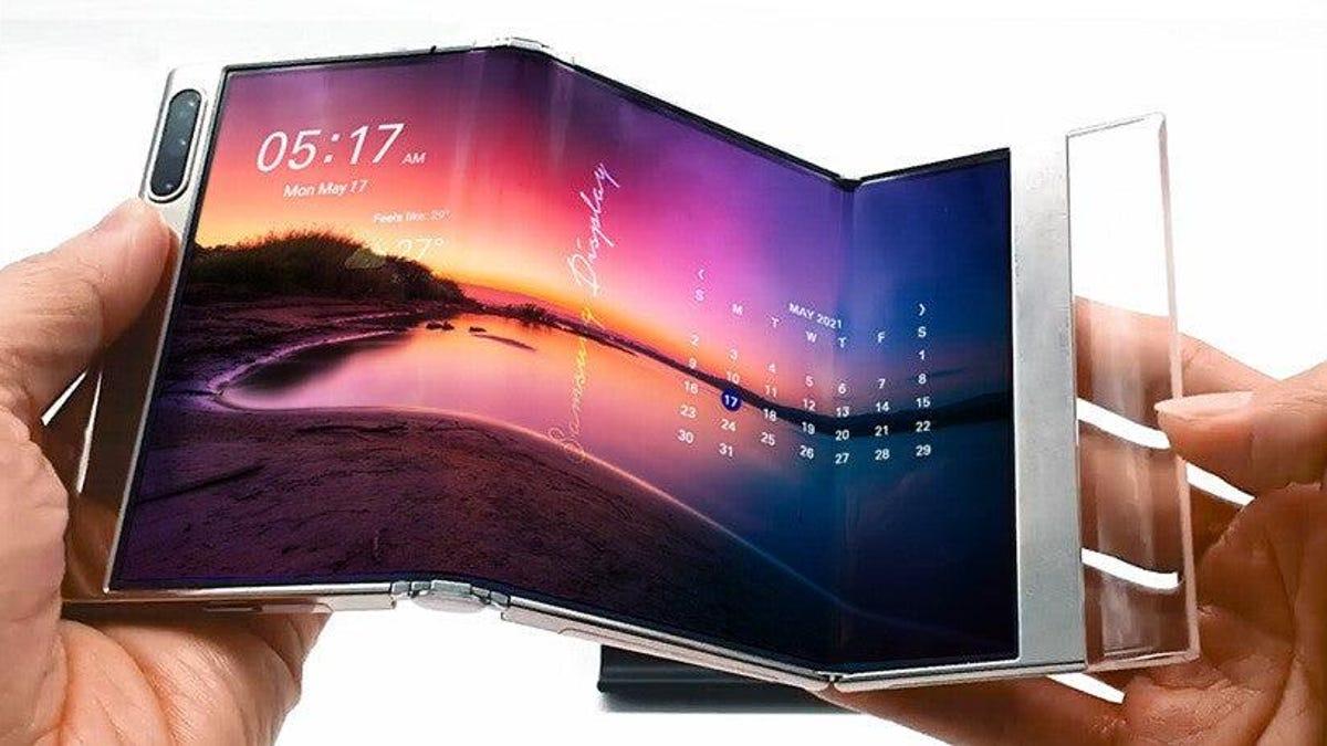 Samsung muestra sus nuevos prototipos con pantallas plegables