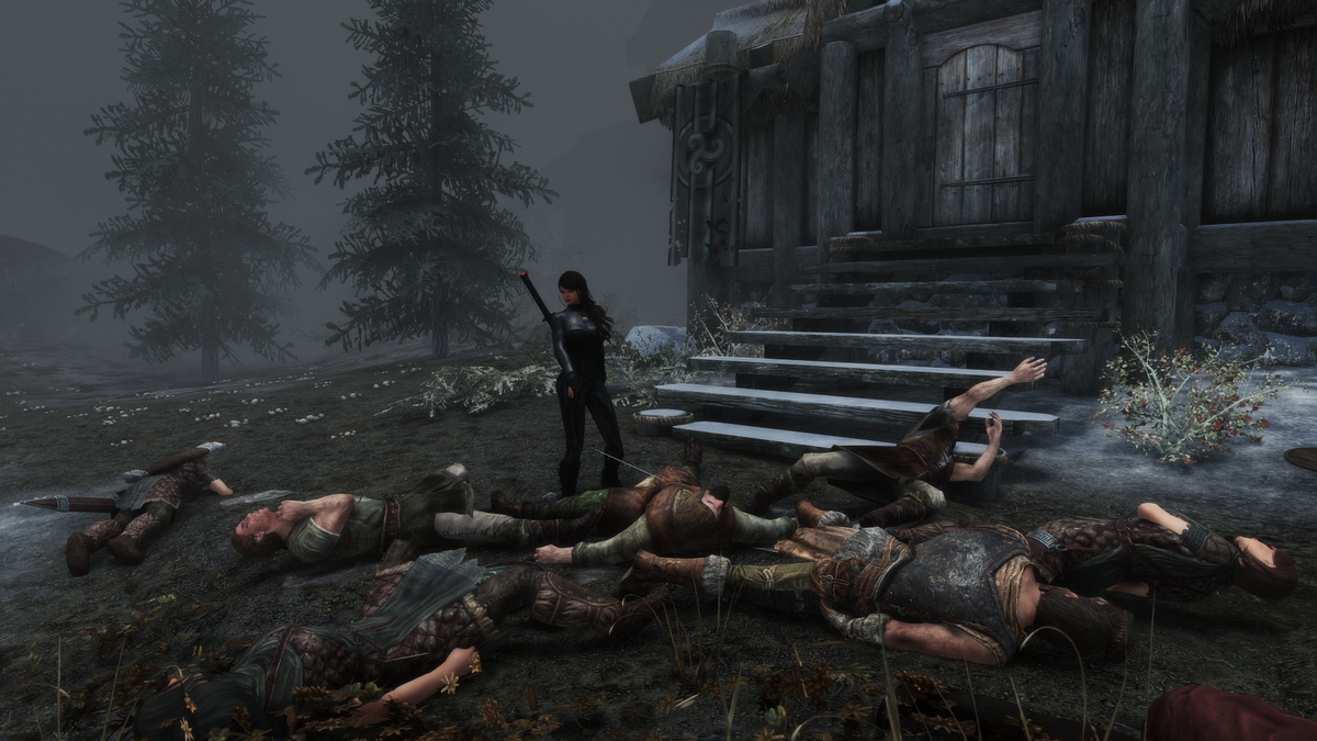 Un jugador de Skyrim ha conseguido matar a todos los NPCs, animales y criaturas del juego