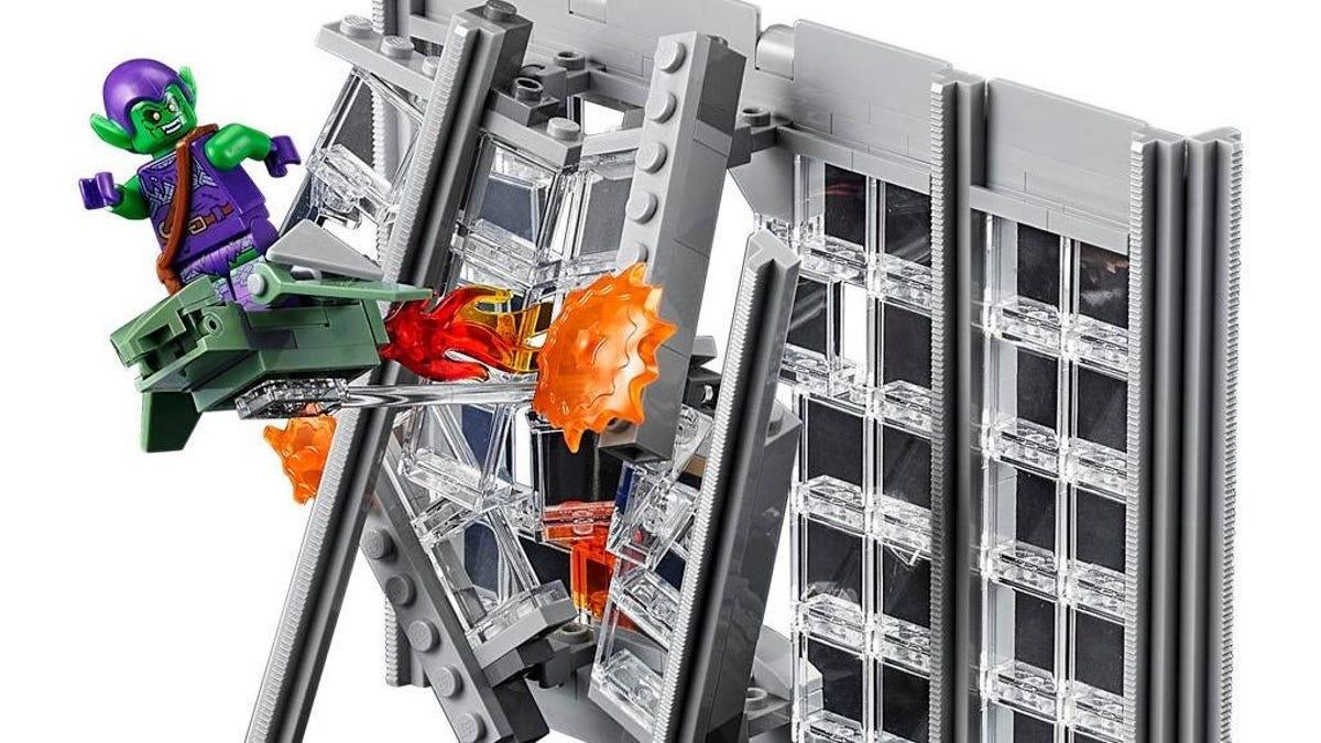 Así es el impresionante set de Lego de Spider-Man del periódico Daily Bugle