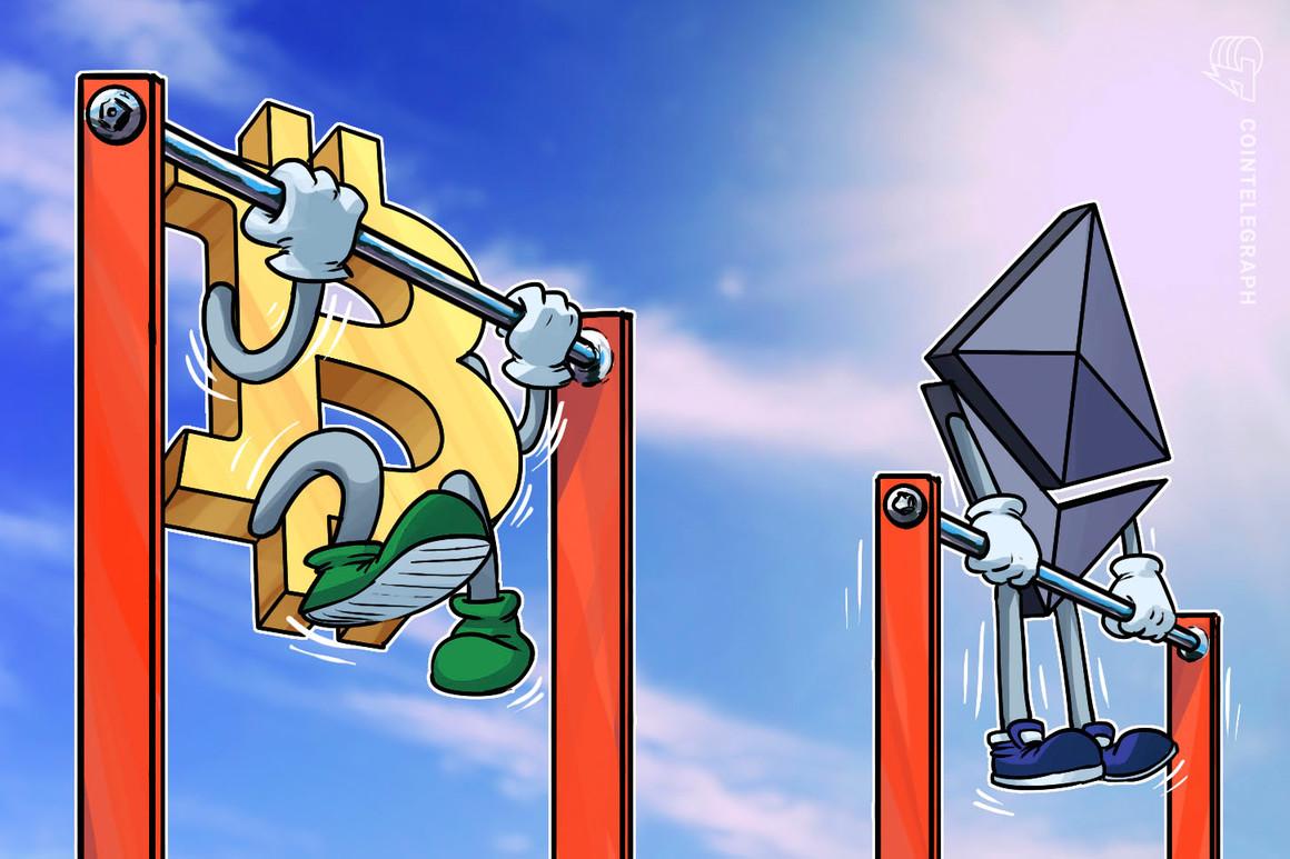 Ethereum logra superar brevemente el volumen récord de futuros de Bitcoin de USD 10 mil millones