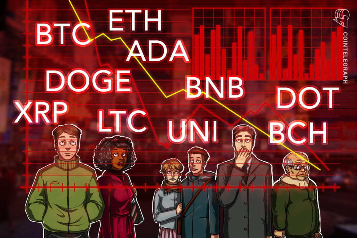 Análisis de precios del 17 de mayo: BTC, ETH, BNB, ADA, DOGE, XRP, DOT, BCH, LTC, UNI