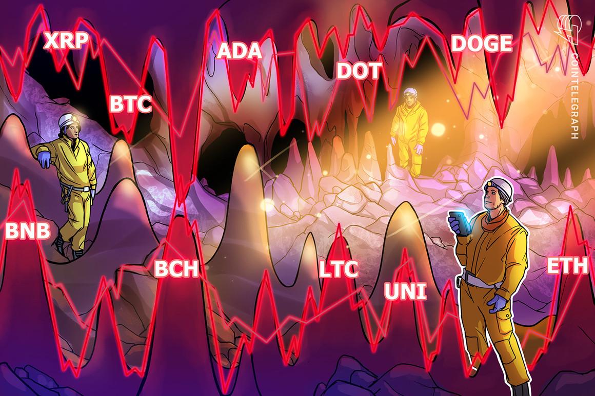 Análisis de precios del 13 de mayo: BTC, ETH, BNB, ADA, DOGE, XRP, DOT, BCH, LTC, UNI