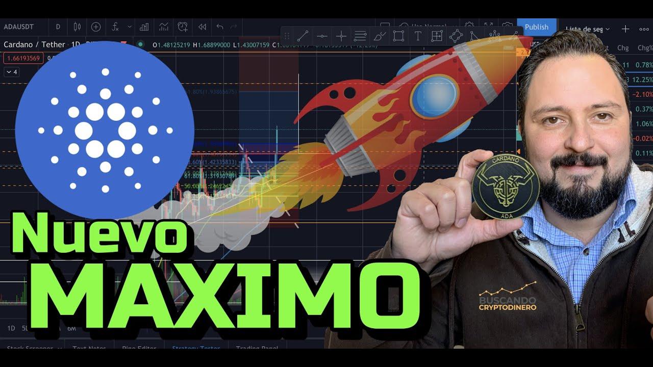 """🔵 🚀 CARDANo """"ADA"""" Explotando y haciendo Nuevo Maximo + 21 Monedas y Rifa en Litecoin !!"""