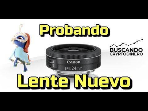 """🎥 Probando Nuevo Lente """"Canon de 24mm 1:2,8"""" y Rapido update del mercado !!!"""