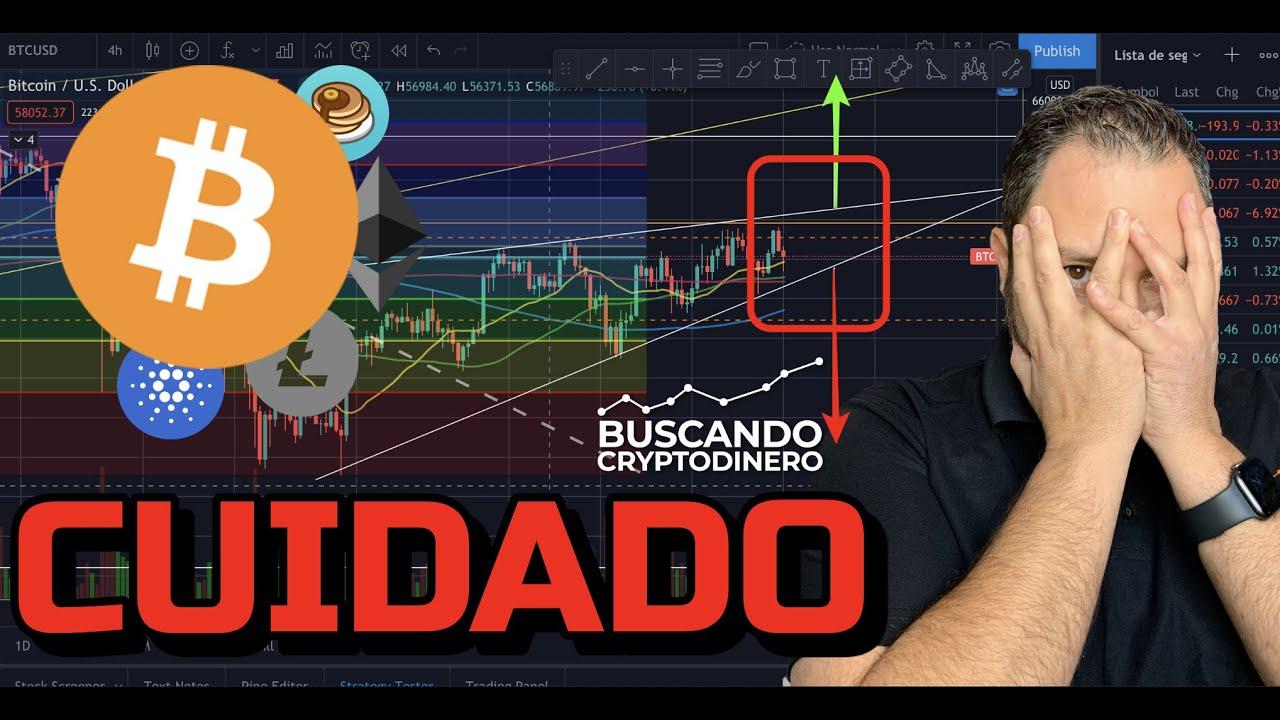 🛑 CUIDADO ➤ Momento de decisión para Bitcoin + 4 monedas y Rifa de Litecoin !!