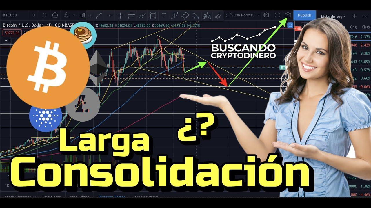 🤯 Bitcoin ➤ Larga consolidación por delante?? + 16 Monedas y 2 Rifas !!!