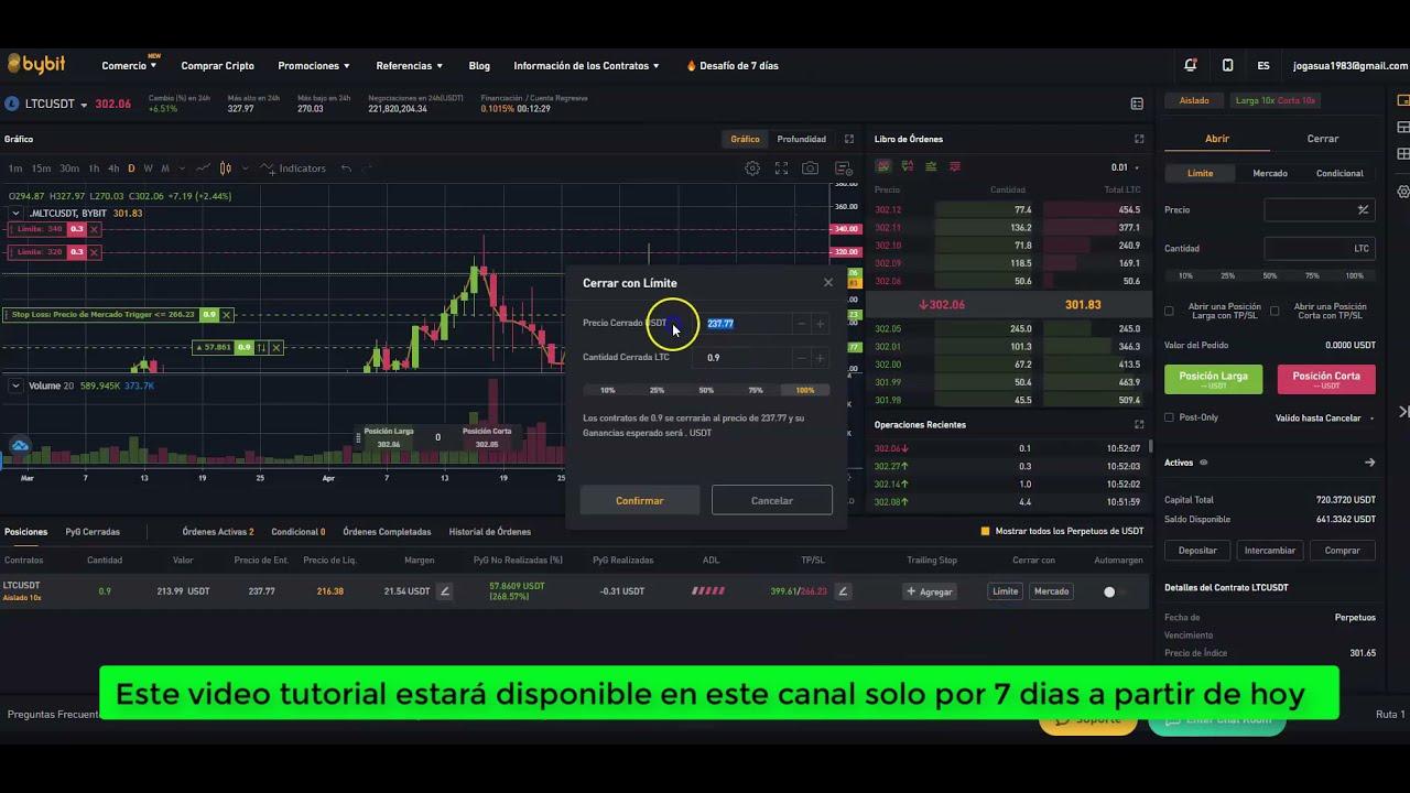 TE REVELO MI ESTRATEGIA PARA TOMA DE GANANCIAS [Trading en criptomonedas] Bybit