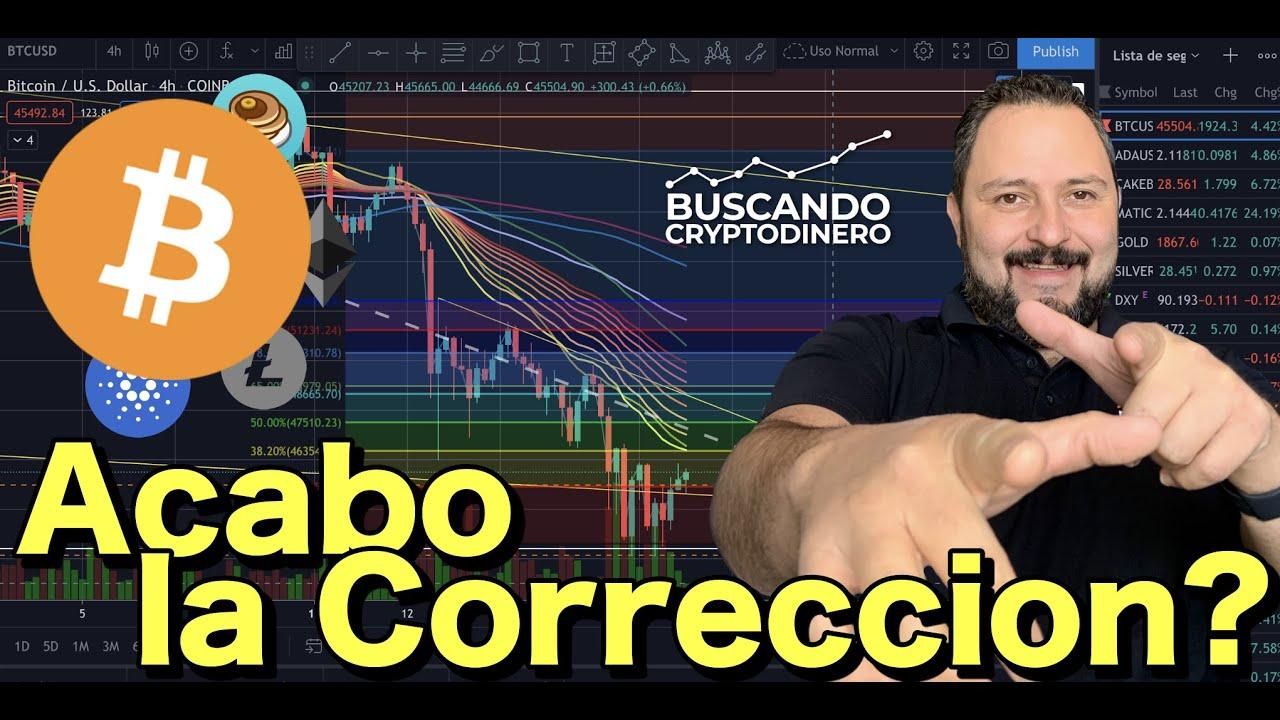 😵💫 Bitcoin ¿Se acabo la corrección? + 20 monedas y Rifa de Litecoin !!!