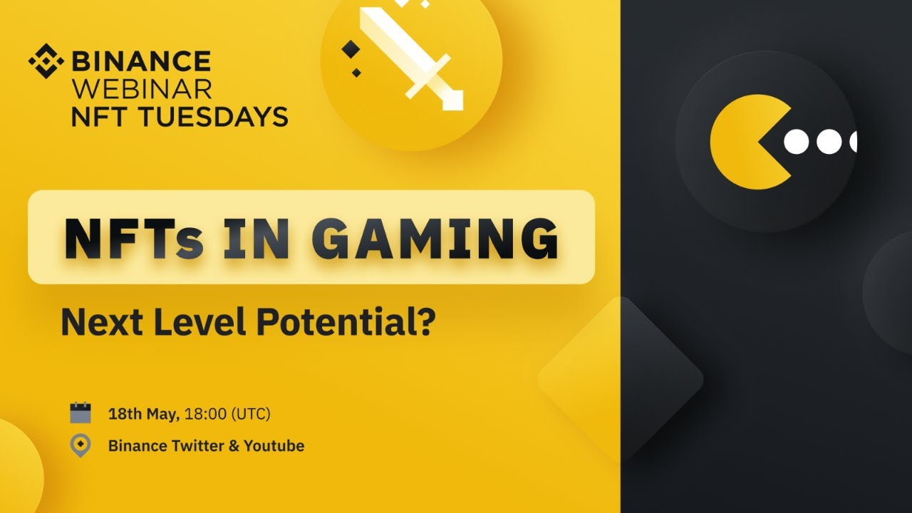 NFTs in Gaming: Next Level Potential?  – 18th May
