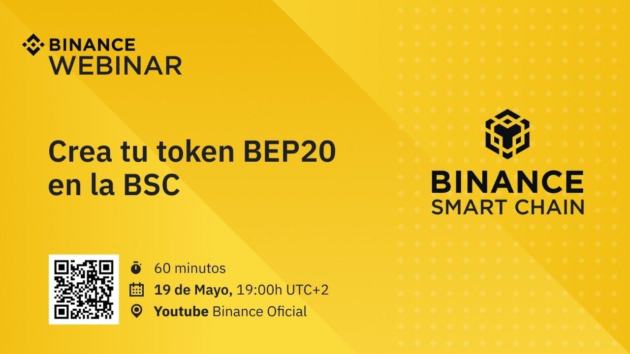 Crea tu token BEP20 en la Binance Smart Chain – Tutorial en español