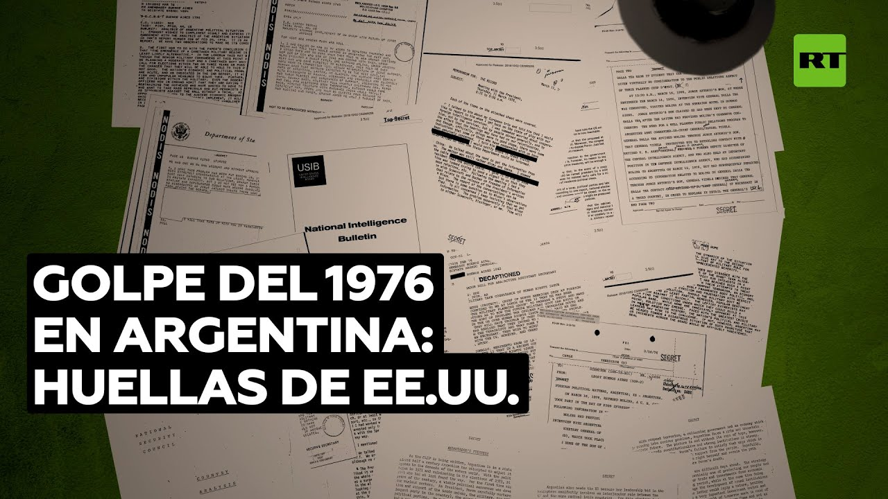 """Junta """"de una severidad sin precedentes"""": cómo apoyó EE.UU. el golpe militar en Argentina"""